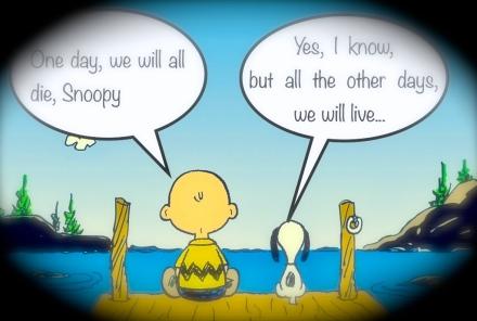 snoopy, la vie...