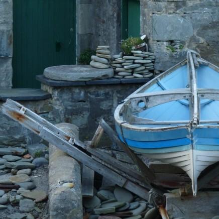 Nuances de bleu/Shetland